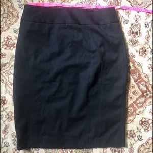 Express Black Pencil Suit Skirt Sz 4